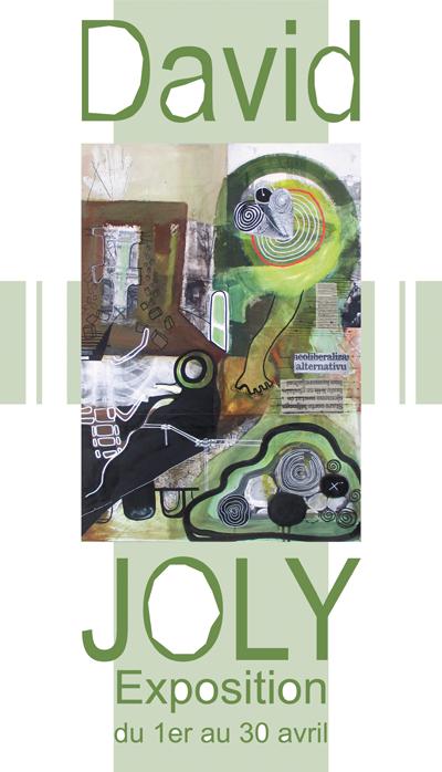 David Joly-Expo Galerie Lyon 1er