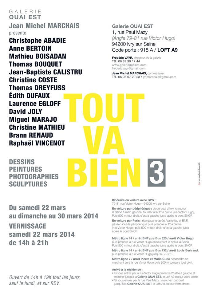David Joly - Expo Galerie Est Ivry