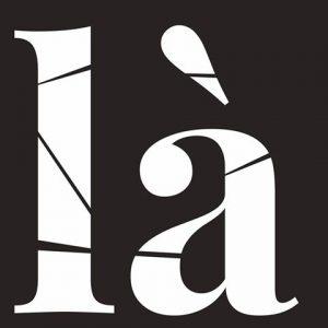 LÀ - logo de la Galerie éphémère