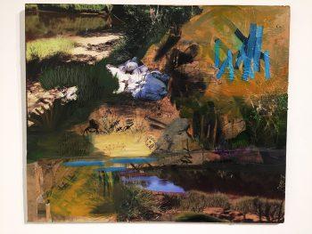 David Joly - Pins bleus