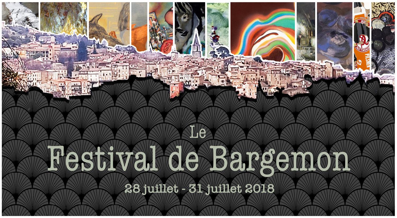 Participation de David Joly au festival Art de Bargemon